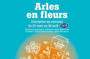 Concours Arles en fleurs jusqu'au 30 avril