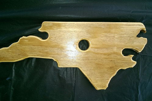 Wine Glass Holder - NC - Stain - Natural