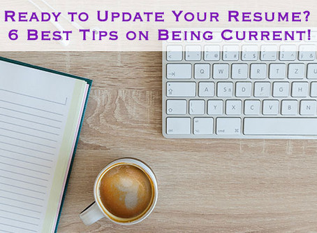 Ready To Update Your Resume?