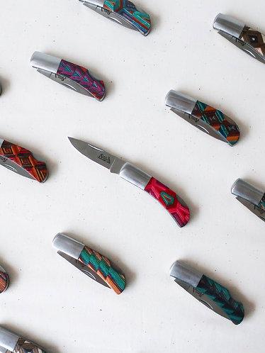 Kaleidoscope Lockback Knife by Santa Fe Stoneworks