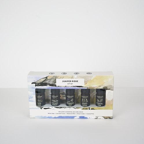 Juniper Ridge Essential Oil 5-Pack Gift Set