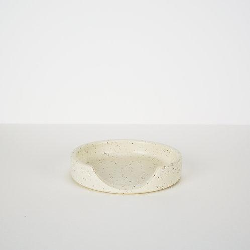 Tellefsen Atelier Speckle Ceramic Spoon Rest