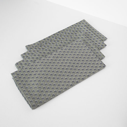 Block Printed Cotton Napkins Set of 4