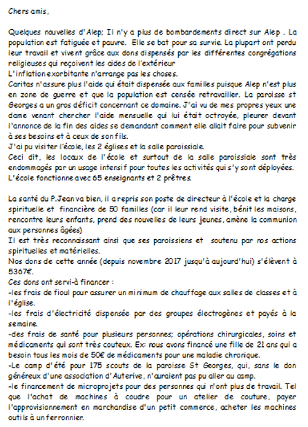 2019 fevrier Alep lettre 1 page 1 RIMA.P