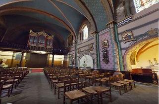 eglise St Eutrope -intérieur  MIREMONT.J