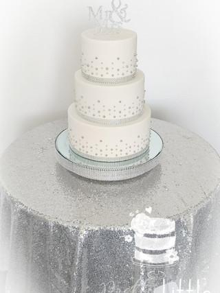 Mirror Cake Stand