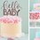 Thumbnail: 'Hello Baby' Card Cake Topper SALE