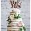 Thumbnail: Mr & Mrs Glitter Card Topper