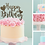 Thumbnail: Happy Birthday Card Cake Topper FONT 4