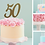 Thumbnail: Double Digit Number Cake Topper