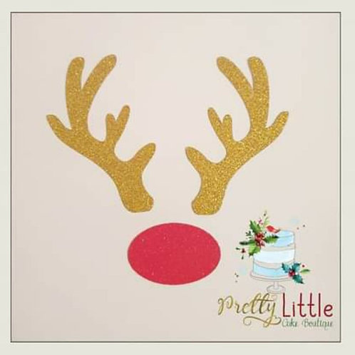 Rudolph Antlers & Nose