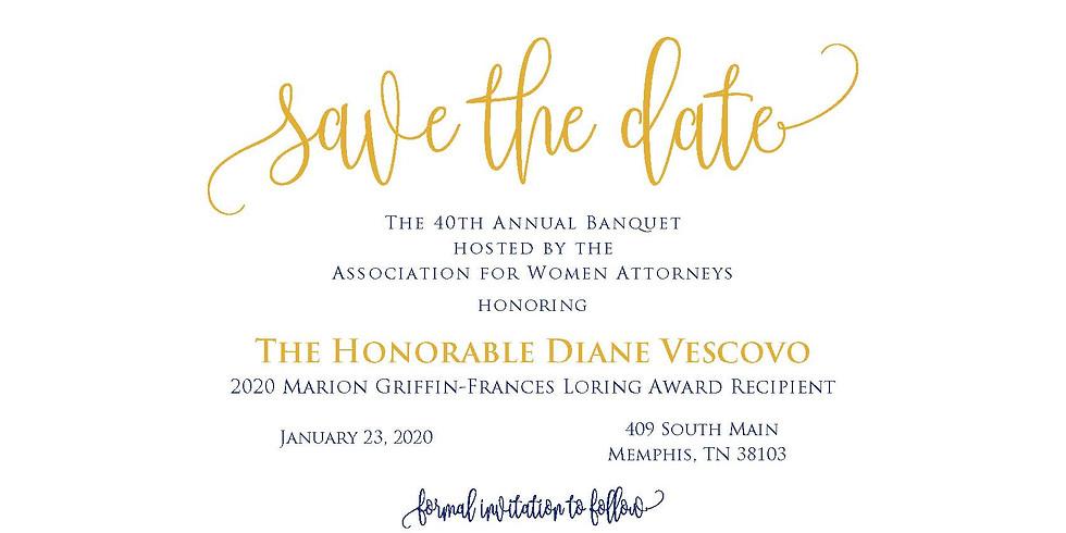 40th Annual Banquet