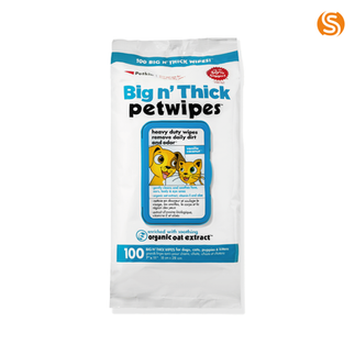 Big 'n' Thick petwipes