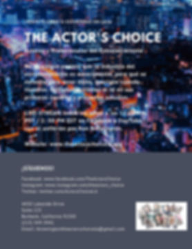 Spanish Actors Choice Flyer-updated300.j