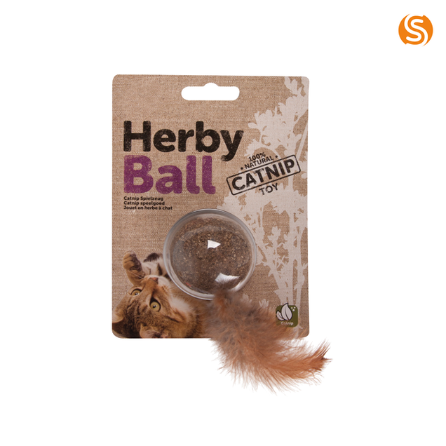 Herby Ball Catnip Toy