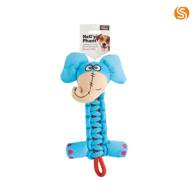 Nell 'Y' Phant Dog Toy