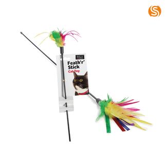 Feath 'R' Stick Cat Dangler