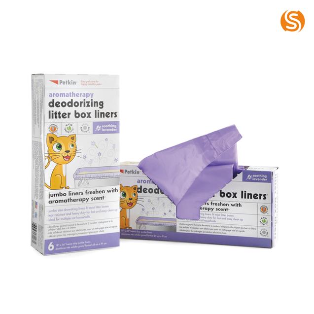 Deodorising Litter Box Liners