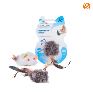 Grand Glo Mouse Squeaky