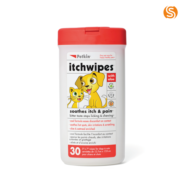 Itch Stop Wipes