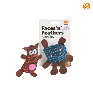 Face 'n' Feathers Alien Toy