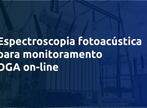 Espectroscopia fotoacústica para monitoramento DGA on-line