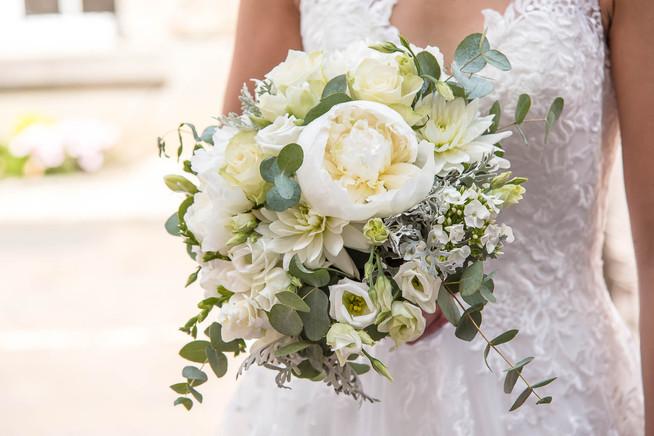 Mariage LeslieGPhotographe Bouquet