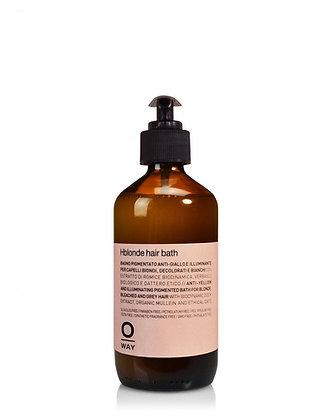 OWay HBlonde Hair Bath 240ml