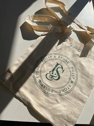 Polly & Stone Reusable Tote Bag