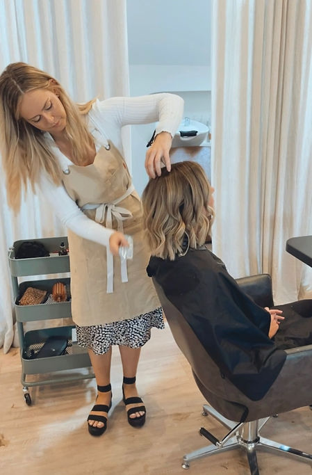 Nikki at Polly and Stone Hair Salon