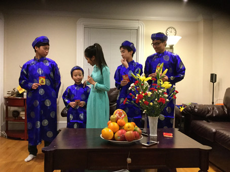 Lunar Year Stories from our students