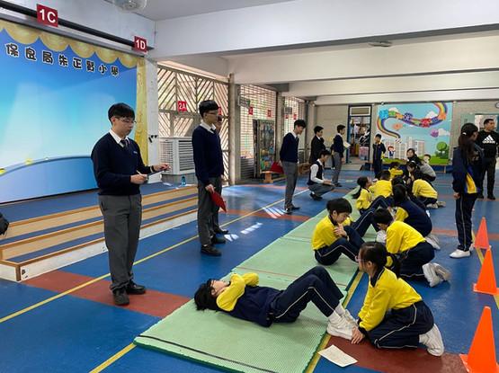 朱正賢小學義工服務