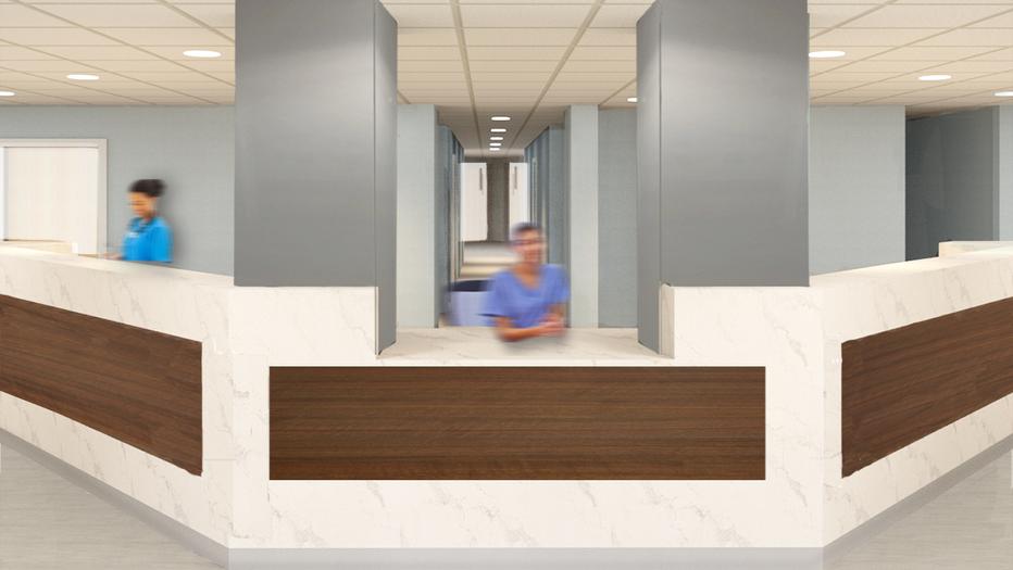 Mount Sinai Nurse Station