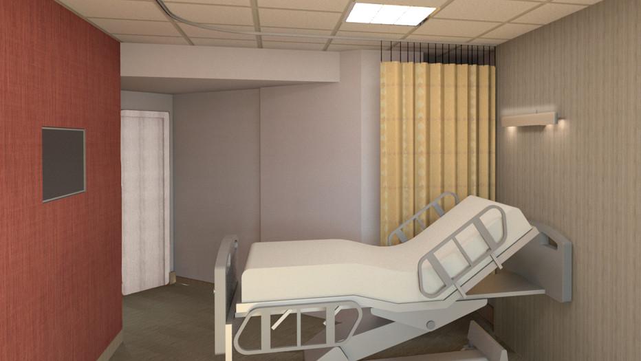 Mount Sinai Patient Rooms