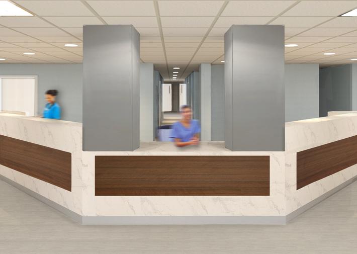 Nurse Station Concept Rendering