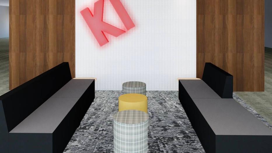 KI NYC Showroom Lobby