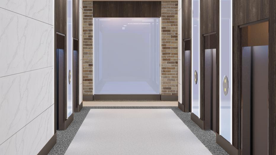 Mount Sinai Elevator Lobby