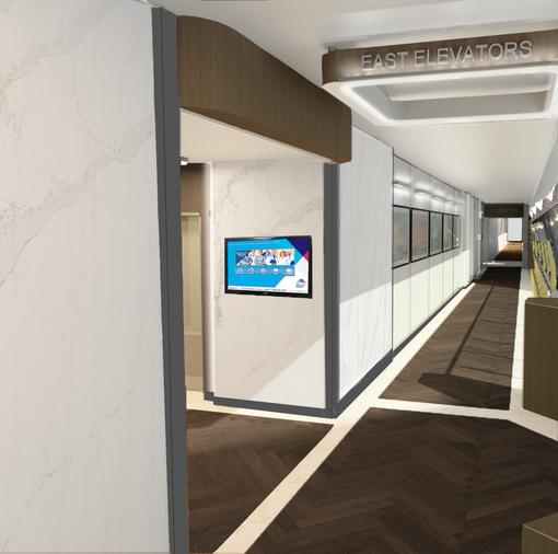 Corridor Concept Rendering
