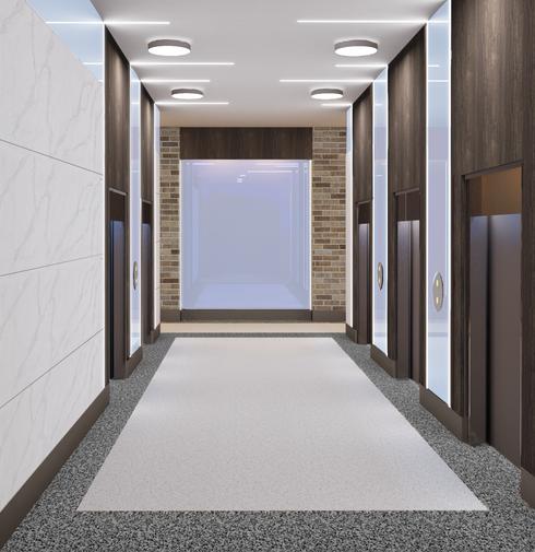 1st Floor Lobby Concept Rendering