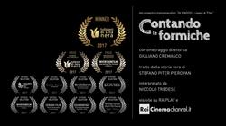 Premi cortometraggio CONTANDO LE FORMICH