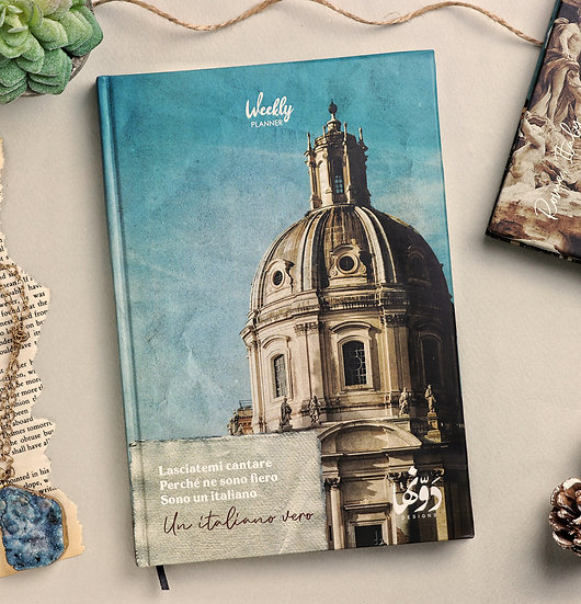 Rome Planner + Coloring book + Poster
