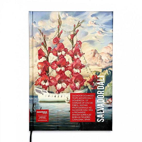 Salvador Dali Sketchbook + Coloring book