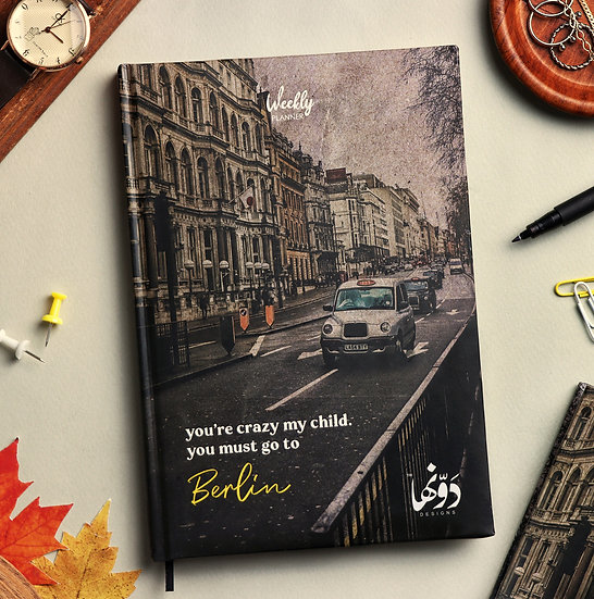 Berlin Planner + Coloring book + Poster