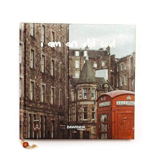 London lifestyle Vintage Notebook
