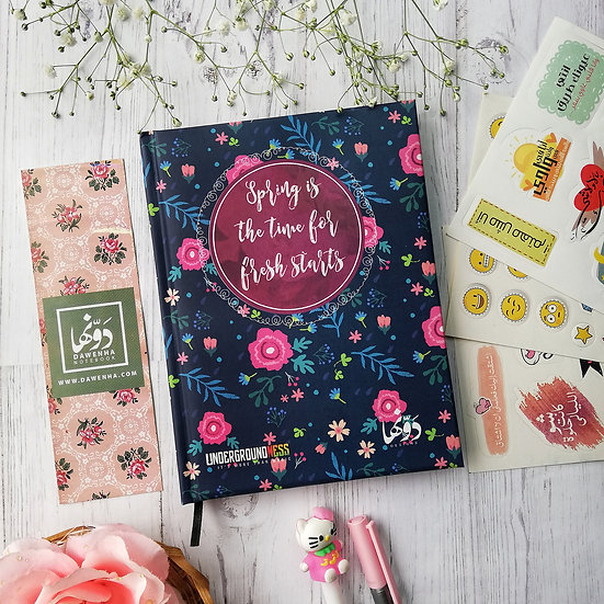 Spring Notebook+ Stickers Sheets