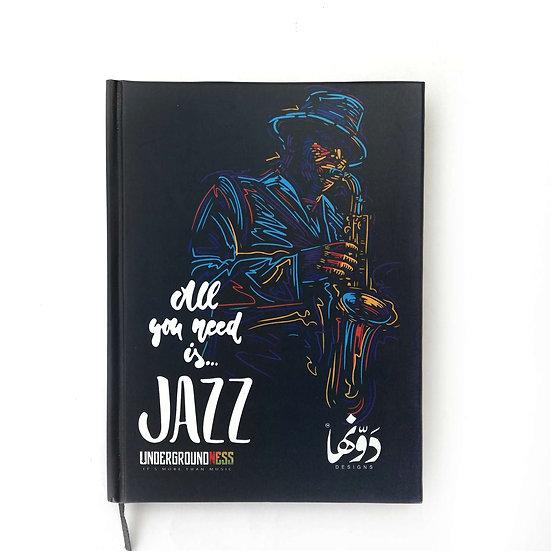 Jazz Notebook+Sticker sheets