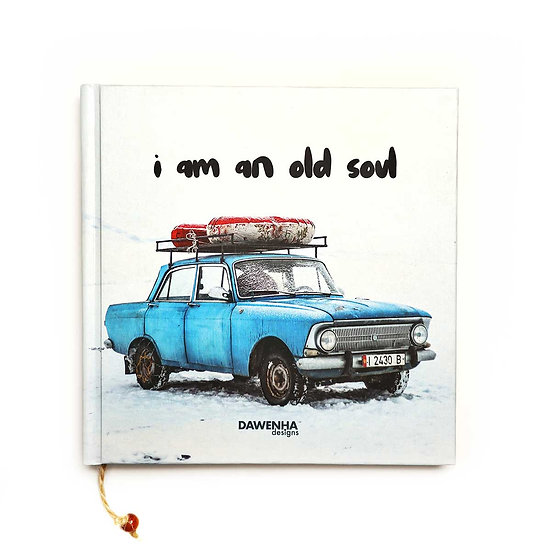 Classic Car Vintage Notebook