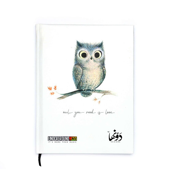 Owl you need is love Notebook+Sticker sheets
