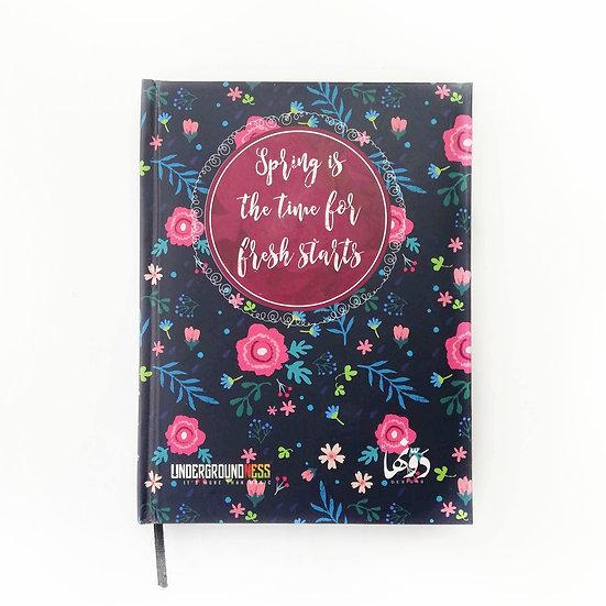 Spring Notebook+Sticker sheets