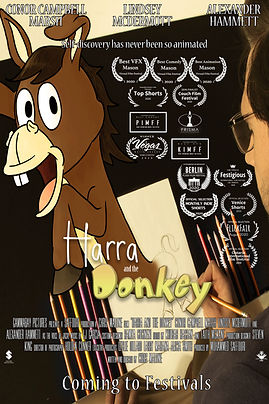 Harra and the Donkey Theatrical Poster w